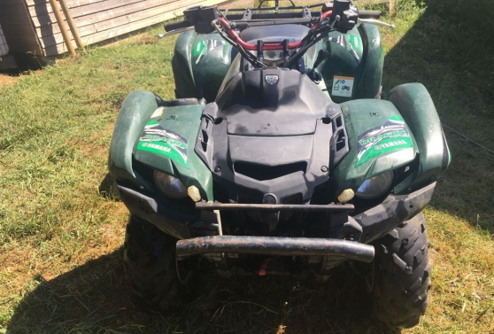 quad Yamaha 550 grizzly