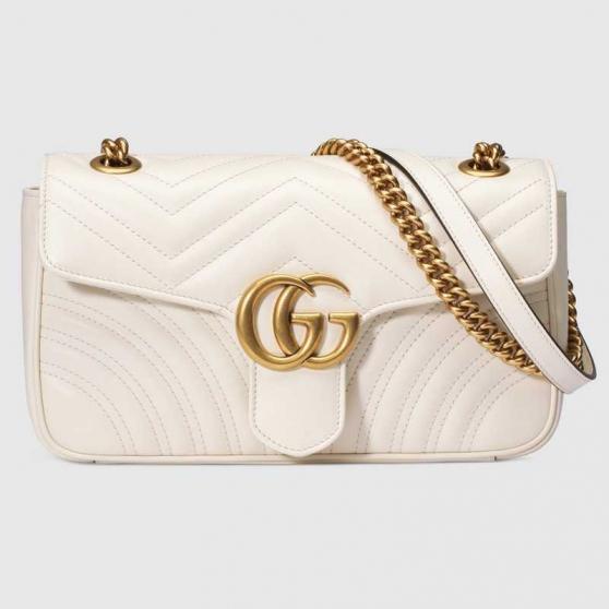 Annonce occasion, vente ou achat 'Sac à épaule petite taille Blanc Gucci.'