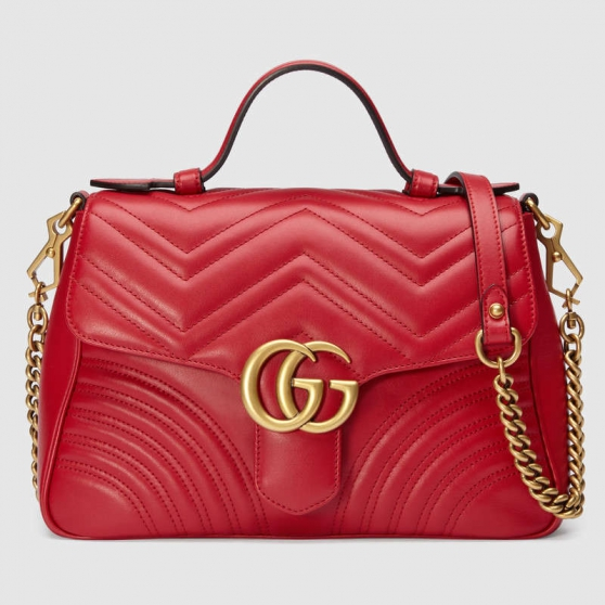 Annonce occasion, vente ou achat 'Sac à épaule petite taille Rouge Gucci'