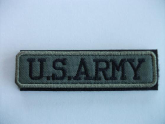Ecusson ( velcro ) US.ARMY