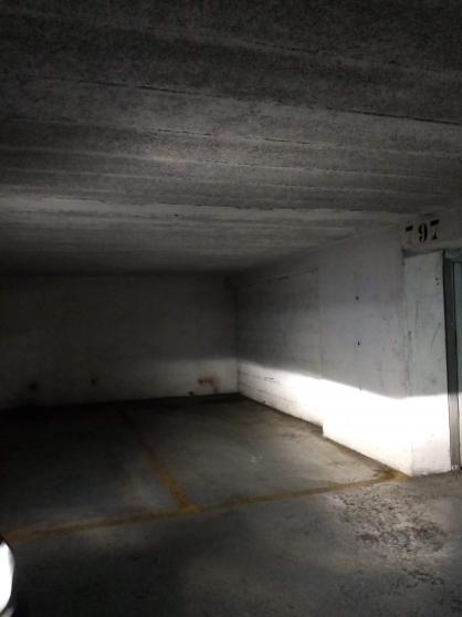 vends place de parking