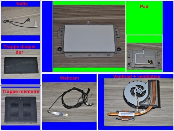 Pièces Sony Vaio SVF152C29M de 15,6 pouc - Photo 3