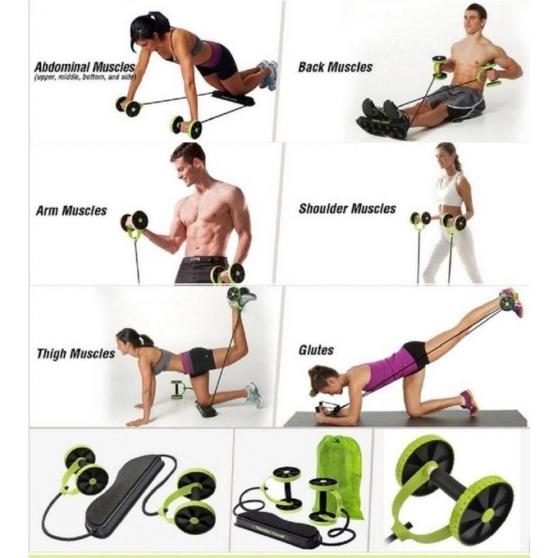 Appareil pour muscler TOUT le corps