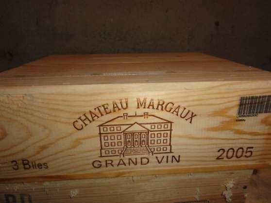 CHATEAU MARGAUX 2005 CBO 3 bouteilles
