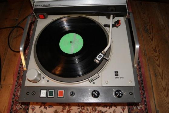 platine vinyle emt 948 bernin musique instruments tables de mixage bernin reference mus. Black Bedroom Furniture Sets. Home Design Ideas
