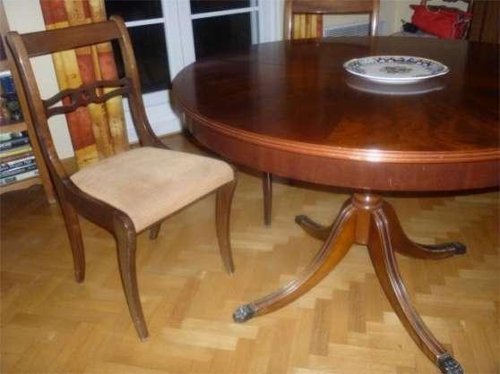 Table salle manger de style armenti res meubles d coration tables arm - Deco meubles armentieres ...