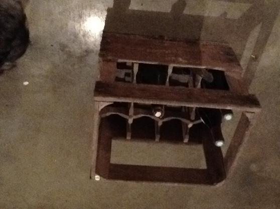 Caisses vins en bois