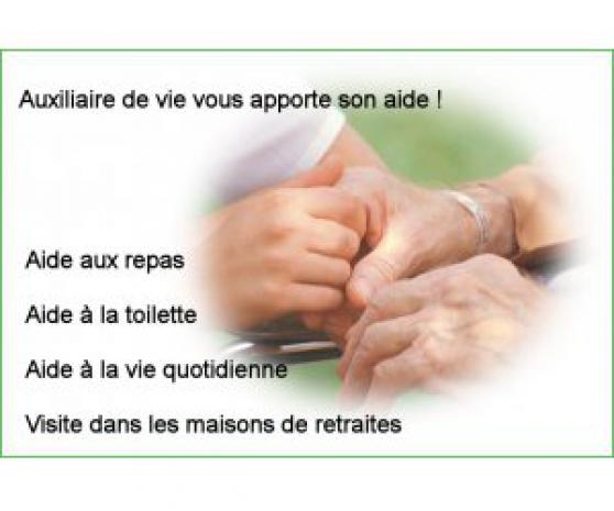 auxiliaire de vie - Annonce gratuite marche.fr