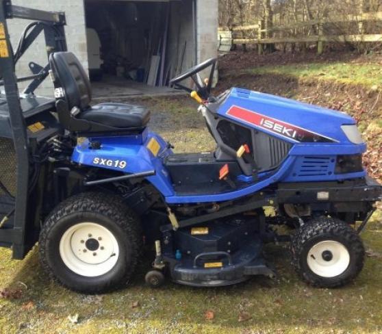 Annonce occasion, vente ou achat 'Tracteur Tondeuse Iseki Sxg 19'