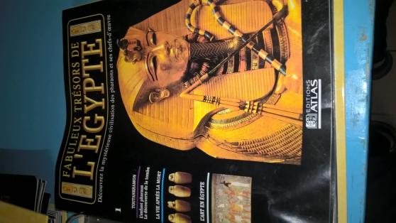 Petite Annonce : Fascicules tresor de l\'egypte - Fascicules  et trésor de l'Égypte  3 catalogues et +   du n° 1   au