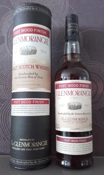 WHISKY GLENMORANGIE PORT WOOD FINISH