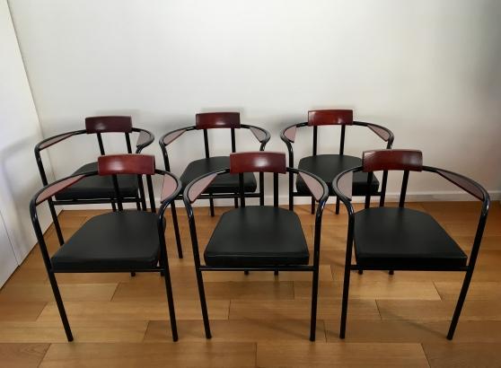 Suite de 6 fauteuils design