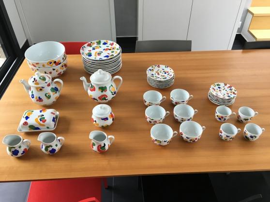 Service en porcelaine CNP
