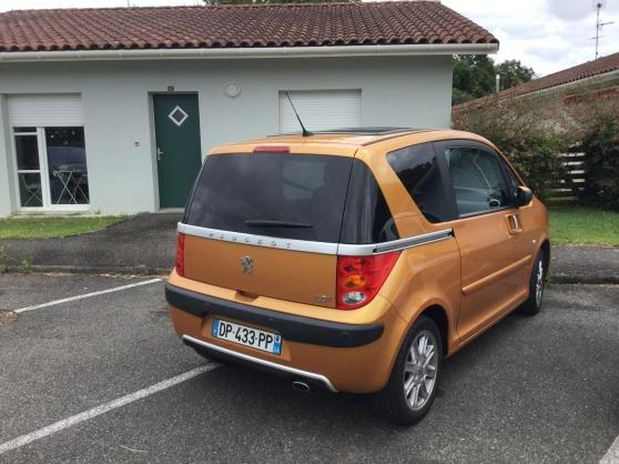 Peugeot 1007 boîte automatique