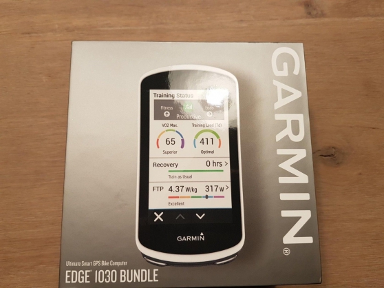 GPS Garmin Edge 1030 Neuf version Bundle - Photo 2