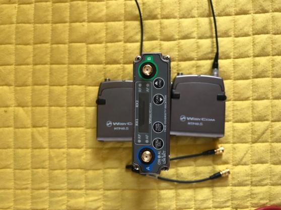 Wisycom MCR 42 S Radio Mic Kit - Photo 2