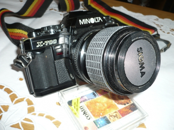 Annonce occasion, vente ou achat 'Appareil photo MINOLTA X-700'