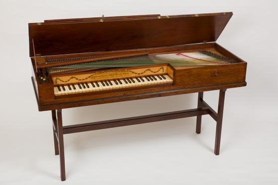 Pianoforte Longman & Broderip. c. 1782