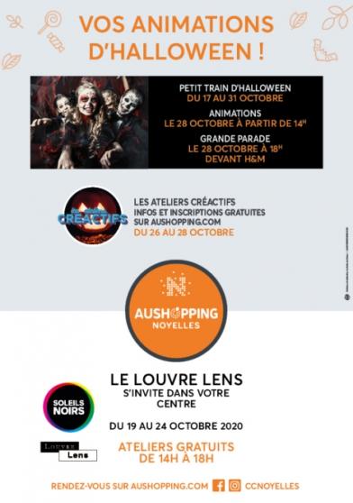 Annonce occasion, vente ou achat 'Ateliers créatifs Aushopping Noyelles'