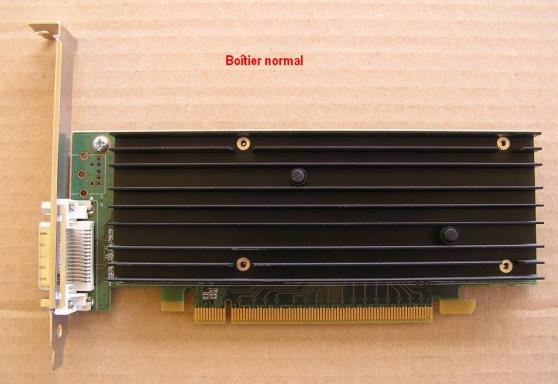 Carte graphique Nvidia NVS 290 + câble - Photo 2