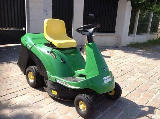 Tracteur tondeuse autoport e john deere jardin nature - Tracteur tondeuse john deere occasion ...