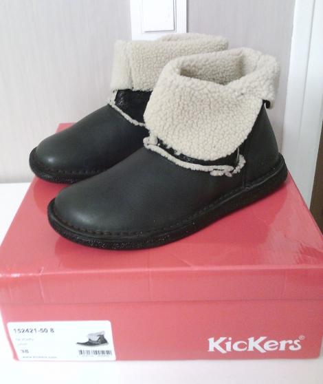 Femme Fourrées neuves Olicho Kickers Et 3839 Vêtements Bottes 8q1X87w5