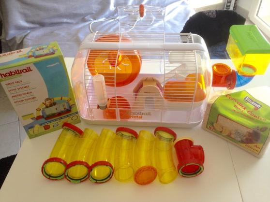 Annonce occasion, vente ou achat 'Cage complète Hamster'
