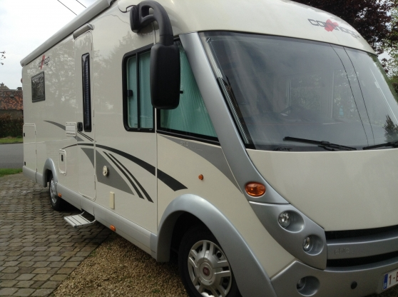 carthago chic 5 0 caravanes camping car camping car. Black Bedroom Furniture Sets. Home Design Ideas