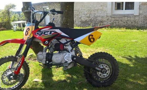 Annonce occasion, vente ou achat 'Dirt 125 ycf'