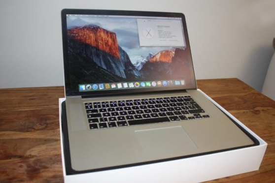 Mac Book pro 15 rétina i7 2015