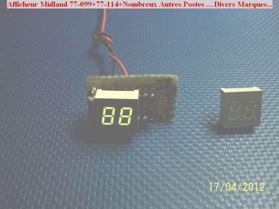 Afficheurs Canaux Midland 77-099 - Photo 3