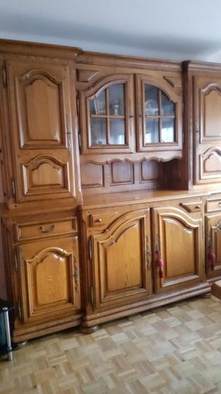 salle manger ch ne massif chevill marseille antiquit art brocantes meubles anciens. Black Bedroom Furniture Sets. Home Design Ideas