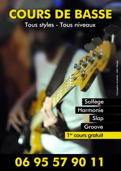 cours de basse - Annonce gratuite marche.fr