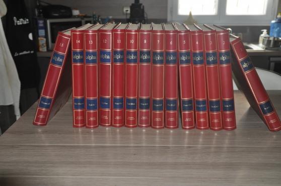 encyclopédie alpha en 15 volumes - Annonce gratuite marche.fr
