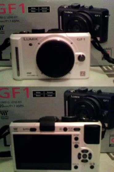 Panasonic Lumix DMC-GF1 - Blanc