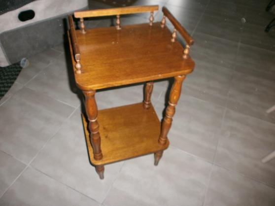 petite table en chêne en TTBE