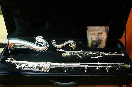 Clarinette basse SELMER en si bemol