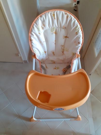 Annonce occasion, vente ou achat 'chaise haute Babidéal+matelas'