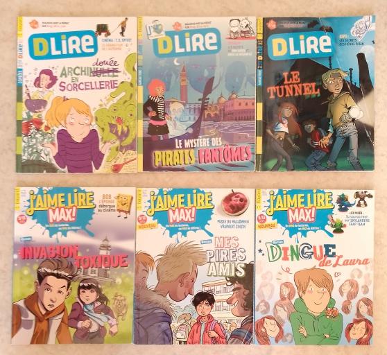 Annonce occasion, vente ou achat 'Livres Jaime Lire Max et livres Dlire'