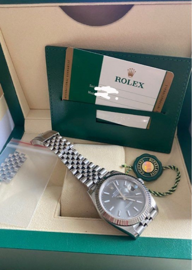 Annonce occasion, vente ou achat 'Rolex datejust rhodium 41mm'