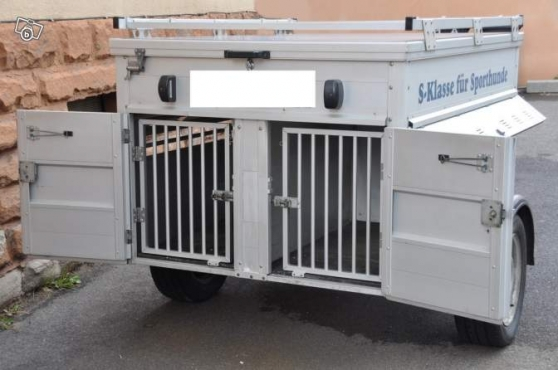 remorque transport chien metz auto accessoires remorques. Black Bedroom Furniture Sets. Home Design Ideas
