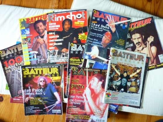 Lot de batteur magazine
