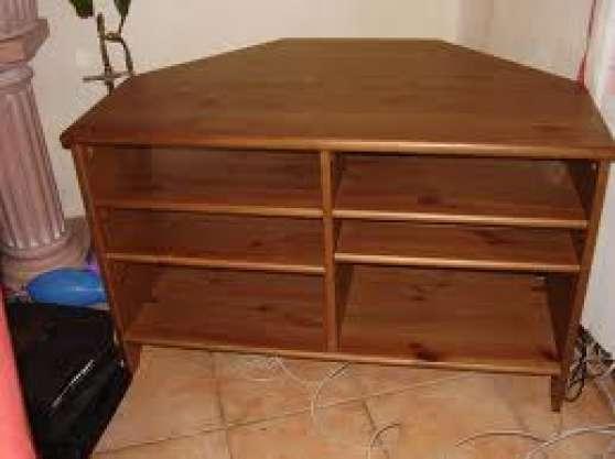 meuble tv en bois d 39 angle meubles d coration meuble st christoly de blaye reference meu. Black Bedroom Furniture Sets. Home Design Ideas