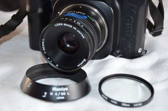 Objectif Mamiya 80 mm 1.4 - Photo 2