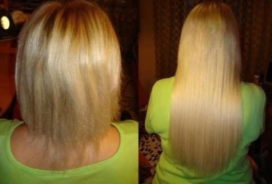 pose extensions de cheveux
