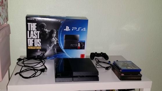 PlayStation 4 - 500 Go - Jet Black