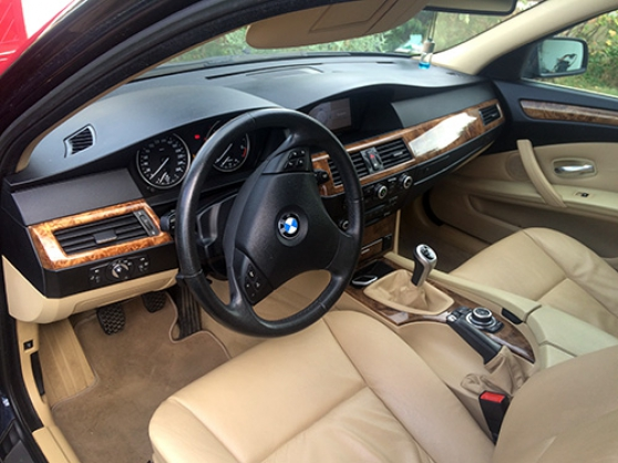 BMW SERIE 5 520D pack luxe E60 LCI - Photo 2