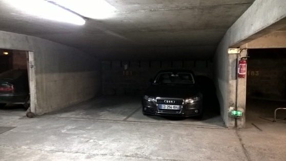 Parking privé - Levallois/Porte Asnières