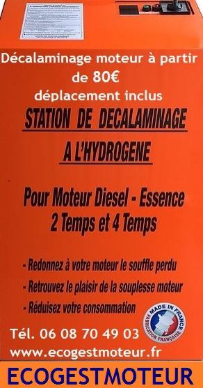 Annonce occasion, vente ou achat 'Décalaminage moteur toutes marques'