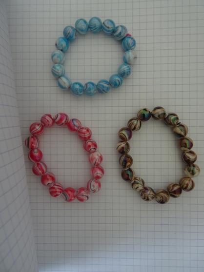 Annonce occasion, vente ou achat 'bracelet fantaisie acrylique'